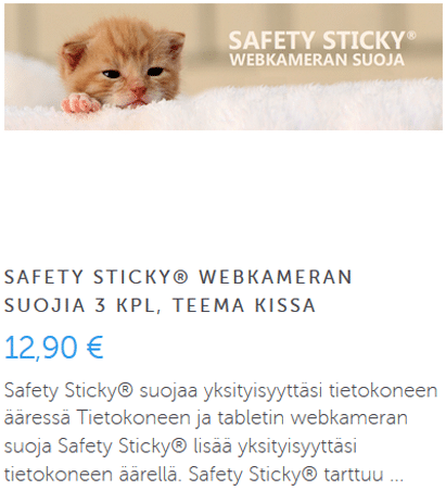 Safety Sticky Kissa