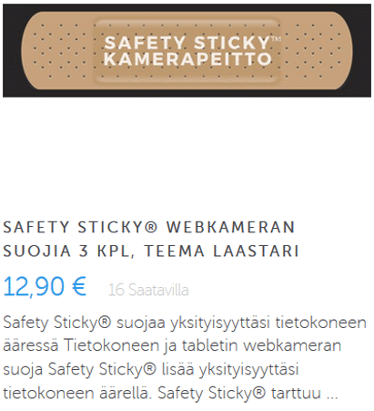 Safety Sticky laastari